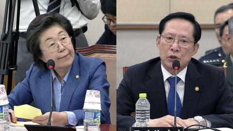"""이은재 한국당 의원 """"계엄 문건 허위"""" 발언 논란"""