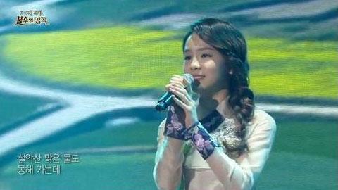 '국악소녀' 송소희 홀로아리랑, 폭풍 가창력 '눈길'