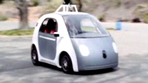 구글, 브레이크 없는 무인차 선보여