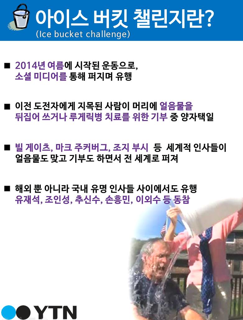 국민MC 유재석, 아이스버킷 챌린지 참여 다음 타자 정준하