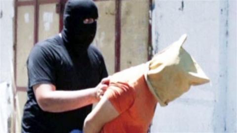 하마스, 이스라엘 협력자 '공개 총살'