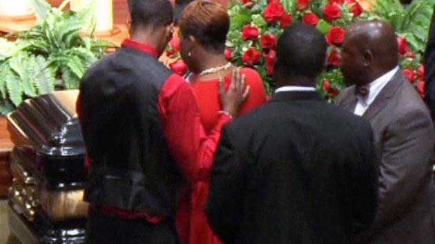 美 퍼거슨시, 피격 사망자 장례식 열려