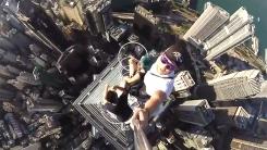 73층 꼭대기서 '셀카 끝판왕'…'소름주의'