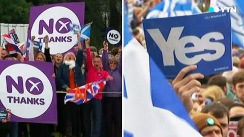 내일 스코틀랜드 독립투표…부동표 흡수 '사활'