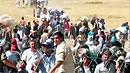 시리아 쿠르드족, IS 공격에 터키로 피란