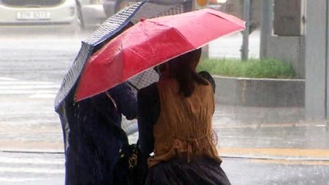 태풍 '풍웡' 모레 남해상 통과…비바람 예상