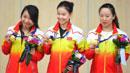 한국 사격 세번째 금메달…여자 권총 3총사