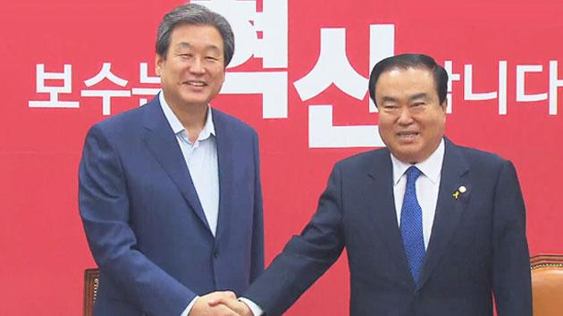 김무성·문희상 '게임의 법칙', 정국 물꼬 틀까