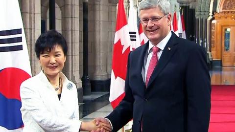 한·캐나다 공동선언 채택…전략적 동반자로 격상