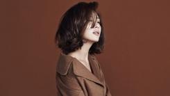 송윤아, 고혹적인 가을 패션 화보 공개