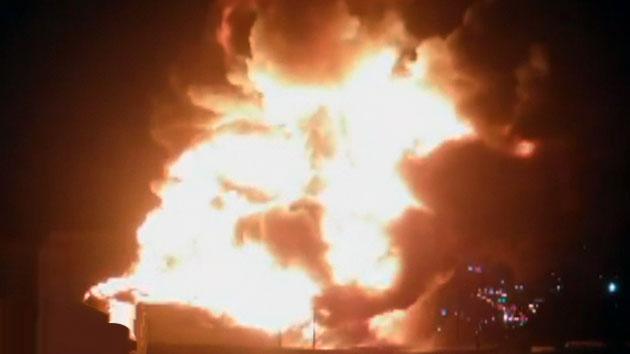 [속보] 한국타이어 대전 물류창고에 큰 불