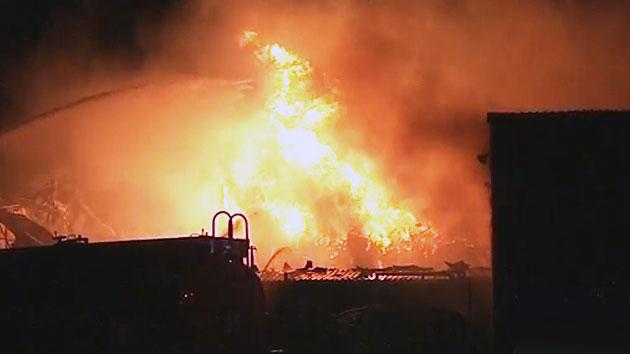 한국타이어 대전공장 큰 불…인근 주민 대피