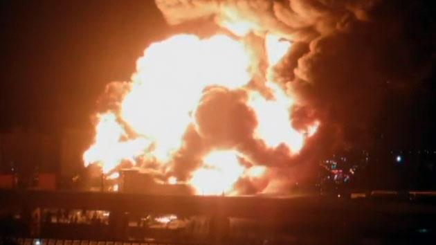 한국타이어 대전 공장 큰불…인근 주민 대피