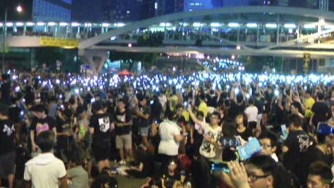 '홍콩 시위' 최대 운집…'발포 검토' 보도 나와
