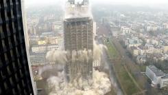 116m 빌딩, 굉음과 함께 붕괴…'영화같아'