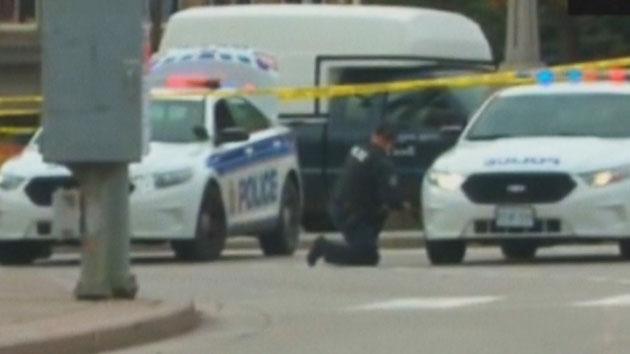 캐나다 도심서 동시다발 '총격'…테러 가능성