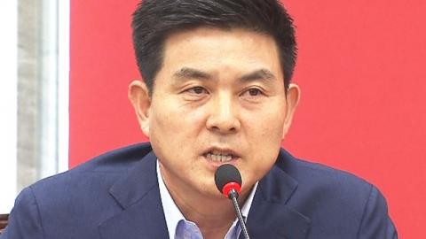 """김태호 사퇴 """"개헌 논의 대통령에 염장"""""""