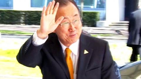 반기문, 대권후보 지지율 1위…대세? 거품?