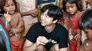 공유, 캄보디아 봉사활동…아동권리 보호 앞장
