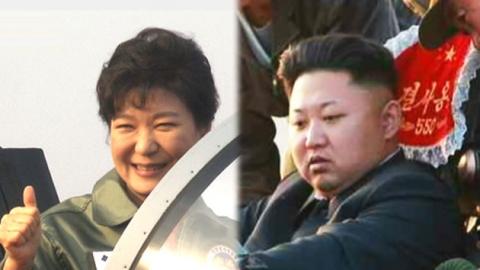남북 정상, '공군 전투기' 과시 경쟁