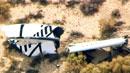 '민간 우주여행' 우주선 시험비행 중 추락
