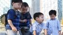 '슈퍼맨' 국민 삼둥이와 쌍둥이의 특별한 만남