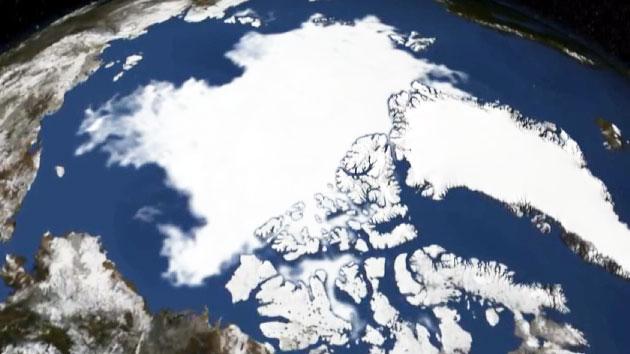 '2050년 북극에 푸른 나무가?' 빙하 미스터리