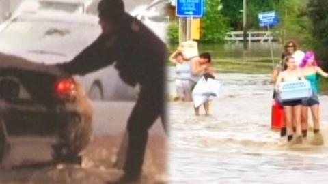 '어제는 폭설 오늘은 홍수 걱정' 고달픈 뉴욕주