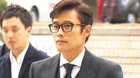 이병헌 법정 출석…잠시 후 증인신문