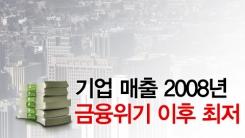 [한컷] '팔아도 남는 게 없다' 순이익 빨간불