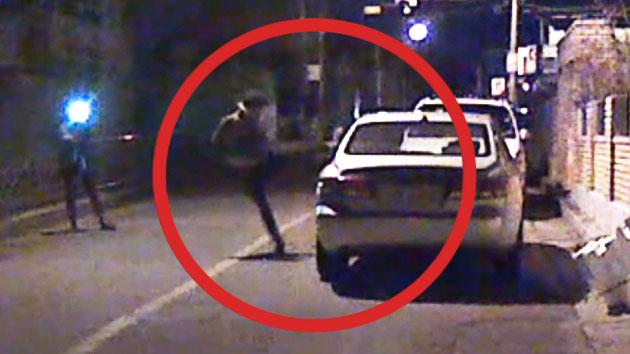 주차된 車에 '돌려 차기'…피해자만 속 끓는다