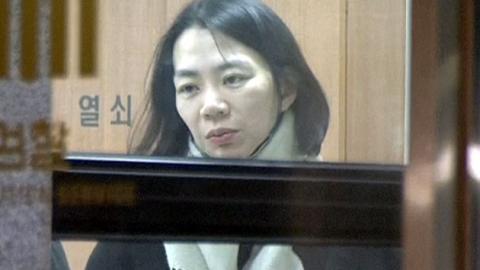 조현아 12시간 넘게 조사…'폭행 부인'