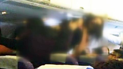 중국인 또 기내 난동…승객 4명 '패싸움'