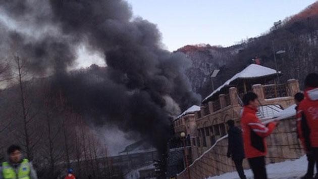 [이 시각 제보영상] 홍천 비발디파크 화재