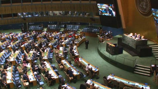 '北 인권결의안' 유엔 총회 본회의 통과