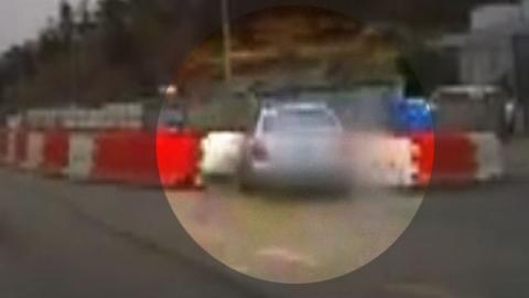 끼어드는 차 피하려다…자동차 비접촉 사고
