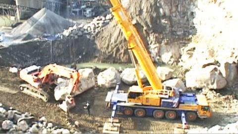 충남 보령서 2백 톤 규모 초대형 '오석' 발굴