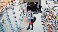中 아이스크림 도둑 '어쩜 이리 태연할 수가'