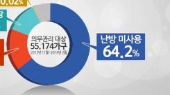 [한컷뉴스] '난방비 0원' 5만 5천 가구…이유가?