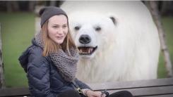 '런던 도심에 북극곰이 나타났다' 알고 보니?