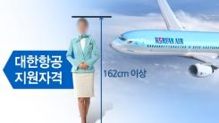 [한컷뉴스] 키 제한 없앤 대한항공 '땅콩에 놀라서?'