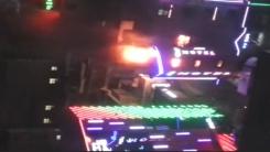 [제보영상] 화염에 휩싸인 모텔…'투숙객 방화'
