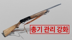 [한컷뉴스] 잇단 총기사건 뒤 내놓은 '관리강화 대책'
