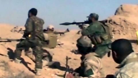 """미군 """"이라크 내 IS 대원 8,500명 사살"""""""