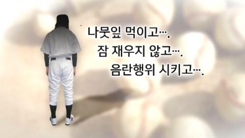 """""""성추행 피해자 엄마입니다""""…가혹한 야구부"""
