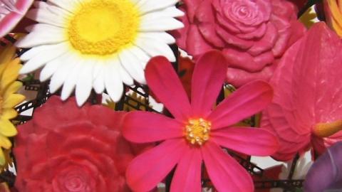 봄봄봄…전시장에서 꽃을 즐기다