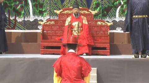 경복궁 명예 수문장 된 '의정부 화재 영웅'