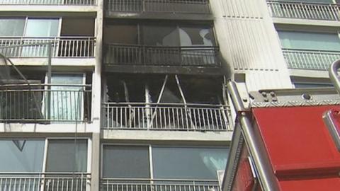 한낮에 아파트서 굉음 동반 폭발…무슨 일이?