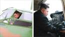 북 경비행기 제작 첫 공개…김정은 시험비행