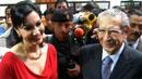 과테말라 독재자 딸, 대선 출마 선언